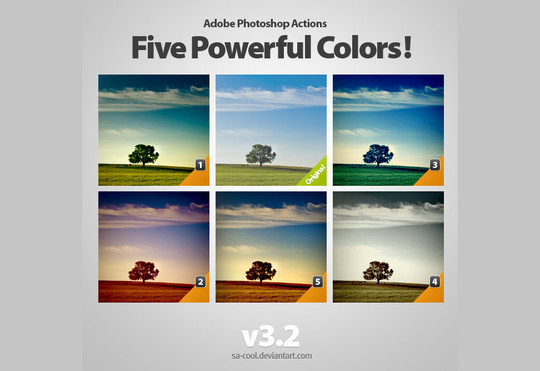50 Extremely Useful And Time Saving Free Photoshop Action Sets 6