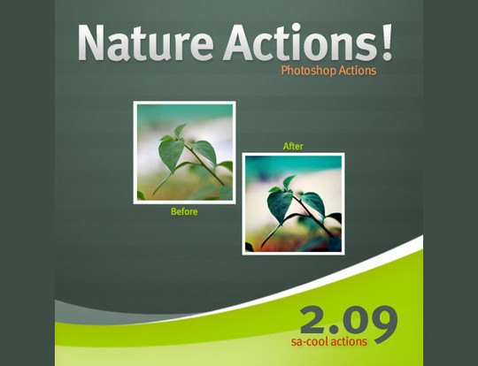 50 Extremely Useful And Time Saving Free Photoshop Action Sets 46