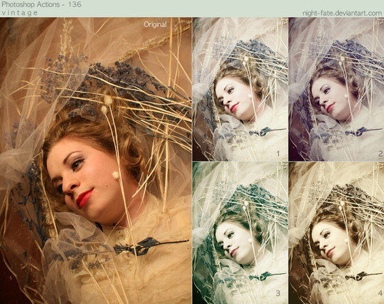 50 Extremely Useful And Time Saving Free Photoshop Action Sets 49