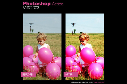 50 Extremely Useful And Time Saving Free Photoshop Action Sets 51