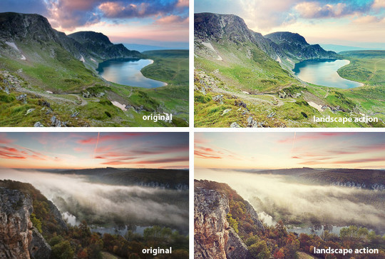 50 Extremely Useful And Time Saving Free Photoshop Action Sets 4
