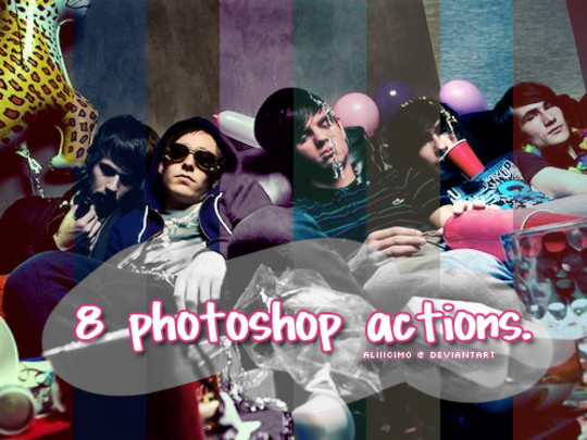 50 Extremely Useful And Time Saving Free Photoshop Action Sets 7