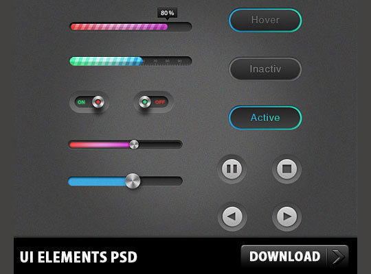 50 Fresh And High Quality Free PSD Files 5