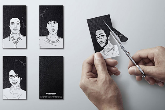 Creatively Designed Collection Of Unique Business Cards 28