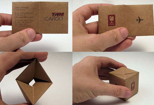 Creatively Designed Collection Of Unique Business Cards 10