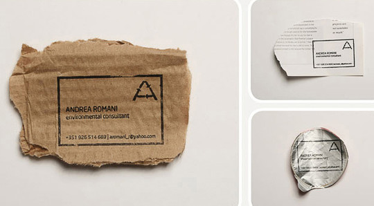 Creatively Designed Collection Of Unique Business Cards 19