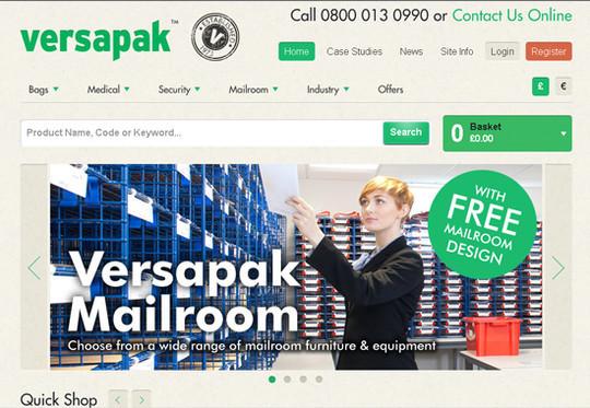 Showcase Of Inspirational E-Commerce Websites 9