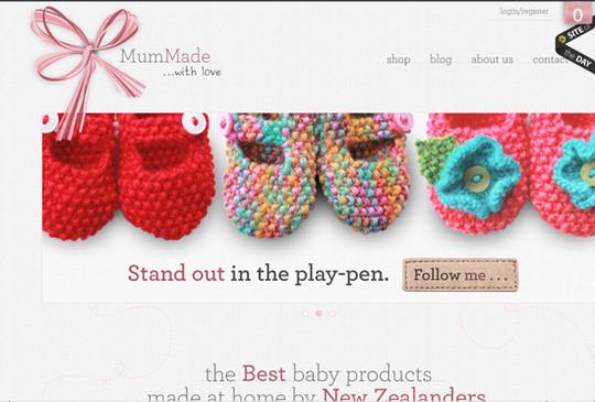 Showcase Of Inspirational E-Commerce Websites 11