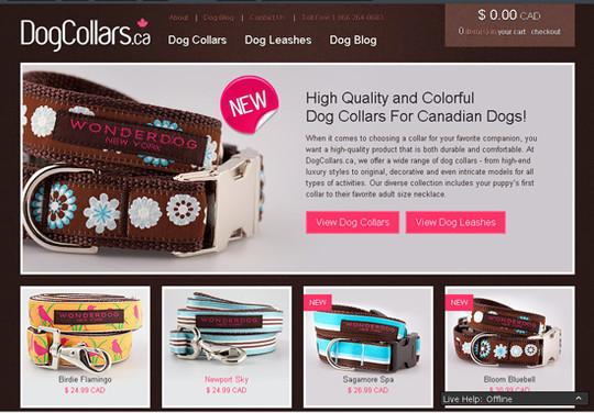 Showcase Of Inspirational E-Commerce Websites 12