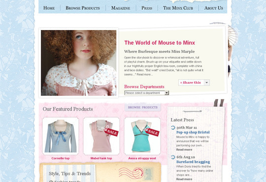 Showcase Of Inspirational E-Commerce Websites 27