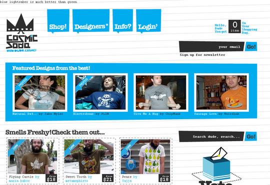 Showcase Of Inspirational E-Commerce Websites 28