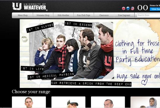 Showcase Of Inspirational E-Commerce Websites 29