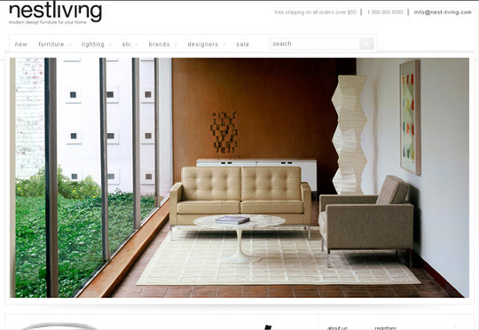 Showcase Of Inspirational E-Commerce Websites 31