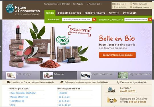 Showcase Of Inspirational E-Commerce Websites 8