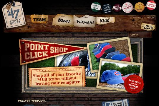 Showcase Of Inspirational E-Commerce Websites 15