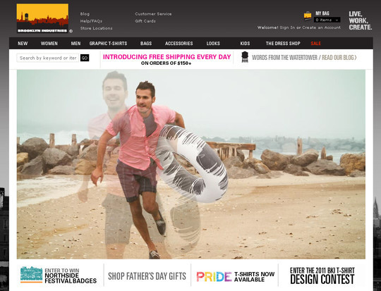Showcase Of Inspirational E-Commerce Websites 34