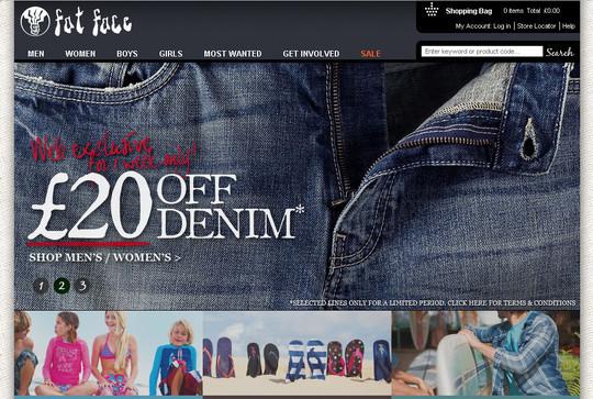 Showcase Of Inspirational E-Commerce Websites 36