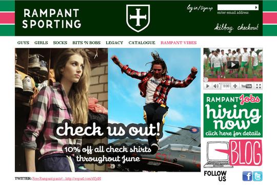 Showcase Of Inspirational E-Commerce Websites 37