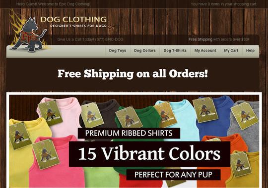 Showcase Of Inspirational E-Commerce Websites 38