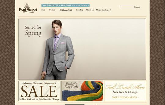 Showcase Of Inspirational E-Commerce Websites 41