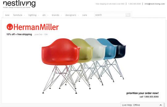 Showcase Of Inspirational E-Commerce Websites 43