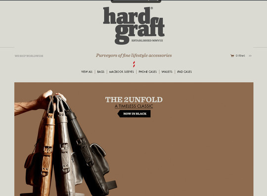 Showcase Of Inspirational E-Commerce Websites 44