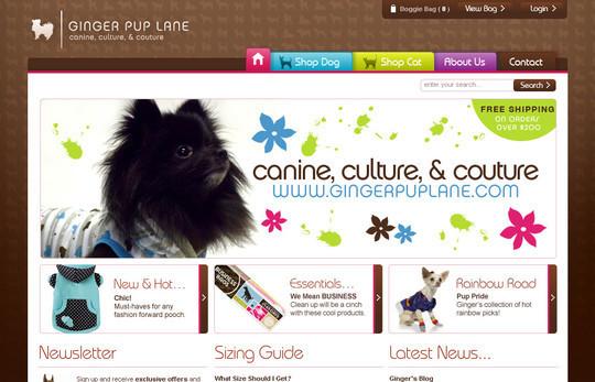 Showcase Of Inspirational E-Commerce Websites 1