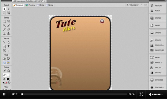 40 Extremely Useful Adobe Fireworks Tutorials For Designers 12