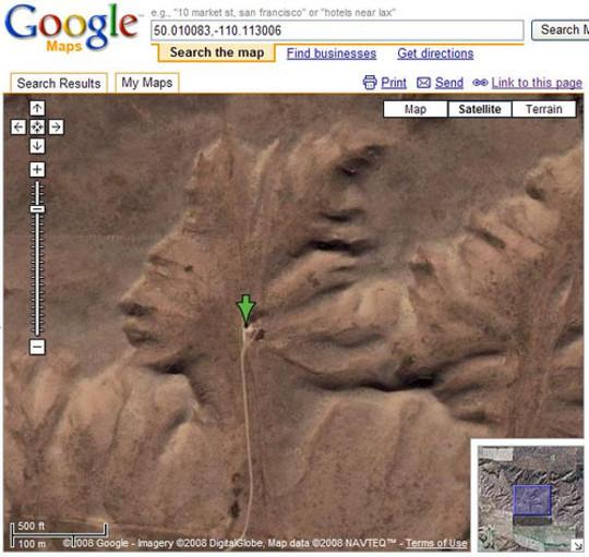 40 Unbelievably Interesting Google Earth Photos 15