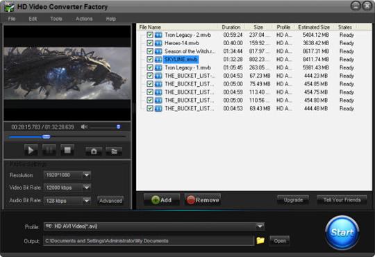 Free Premium Download: HD Video Converter Factory Pro 3 3