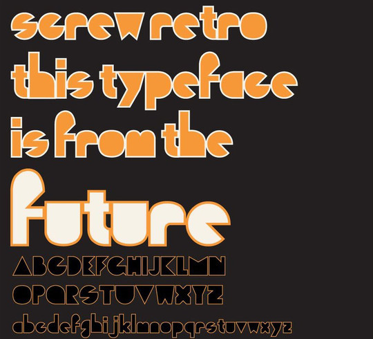 50 Wonderful Free Fonts For Vintage And Retro Designing 35
