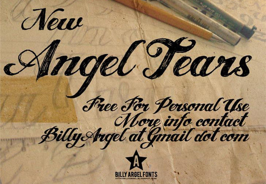 50 Wonderful Free Fonts For Vintage And Retro Designing 10