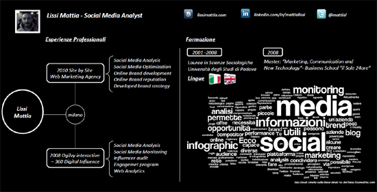Resume Designs (Like Infographics) That Can Stand Out In A Crowd 3