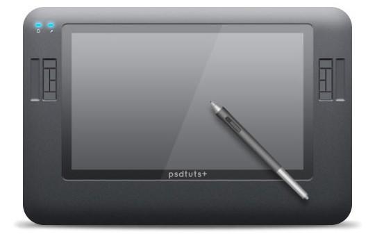 45 Realistic Gadgets Designs Photoshop Tutorials 21