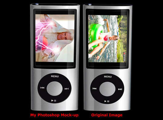 45 Realistic Gadgets Designs Photoshop Tutorials 26