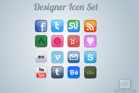 50 (NEW) High Quality And Free Icon Sets 24