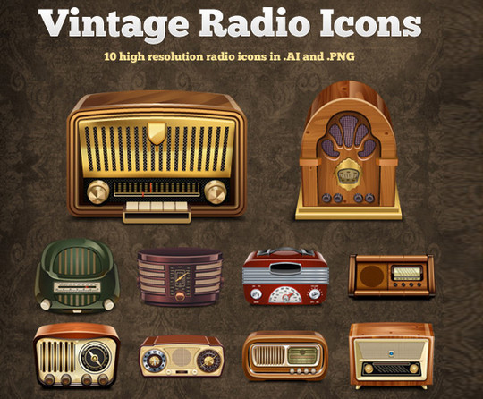 50 (NEW) High Quality And Free Icon Sets 2