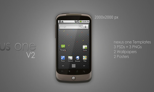 Roundup Of Fresh And High Quality Smart Phones PSD Files 15