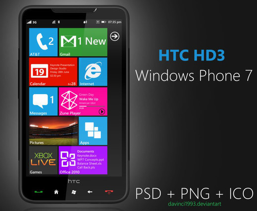 Roundup Of Fresh And High Quality Smart Phones PSD Files 28