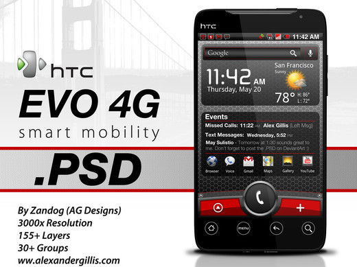 Roundup Of Fresh And High Quality Smart Phones PSD Files 35