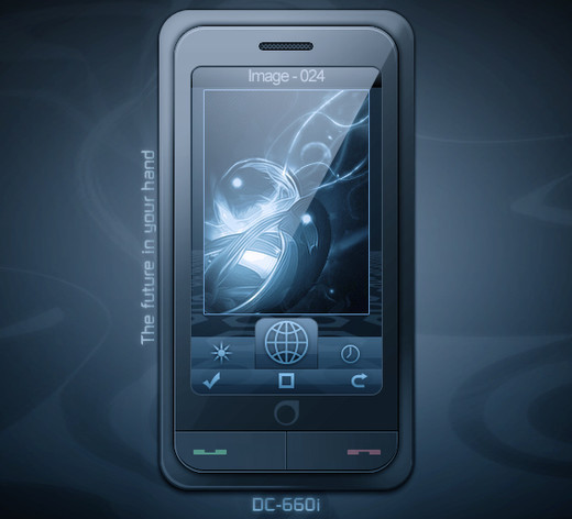 Roundup Of Fresh And High Quality Smart Phones PSD Files 47