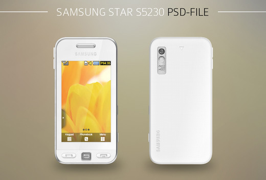 Roundup Of Fresh And High Quality Smart Phones PSD Files 48