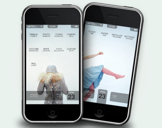 Roundup Of Fresh And High Quality Smart Phones PSD Files 50