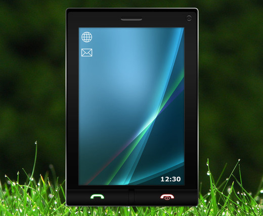 Roundup Of Fresh And High Quality Smart Phones PSD Files 5