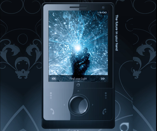Roundup Of Fresh And High Quality Smart Phones PSD Files 53