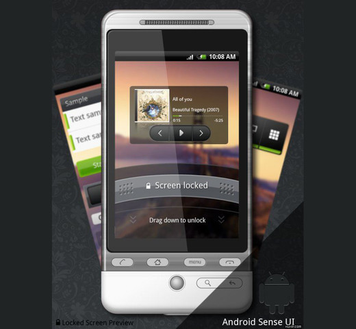 Roundup Of Fresh And High Quality Smart Phones PSD Files 10