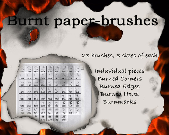 50 Useful Paper Photoshop Brushes For Creative Designs 23