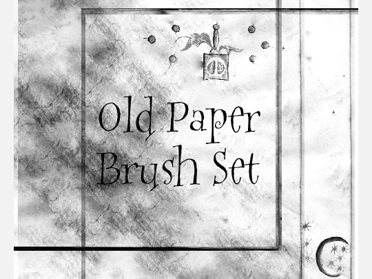 50 Useful Paper Photoshop Brushes For Creative Designs 24