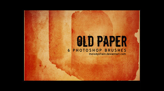 50 Useful Paper Photoshop Brushes For Creative Designs 27