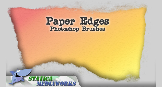 50 Useful Paper Photoshop Brushes For Creative Designs 36